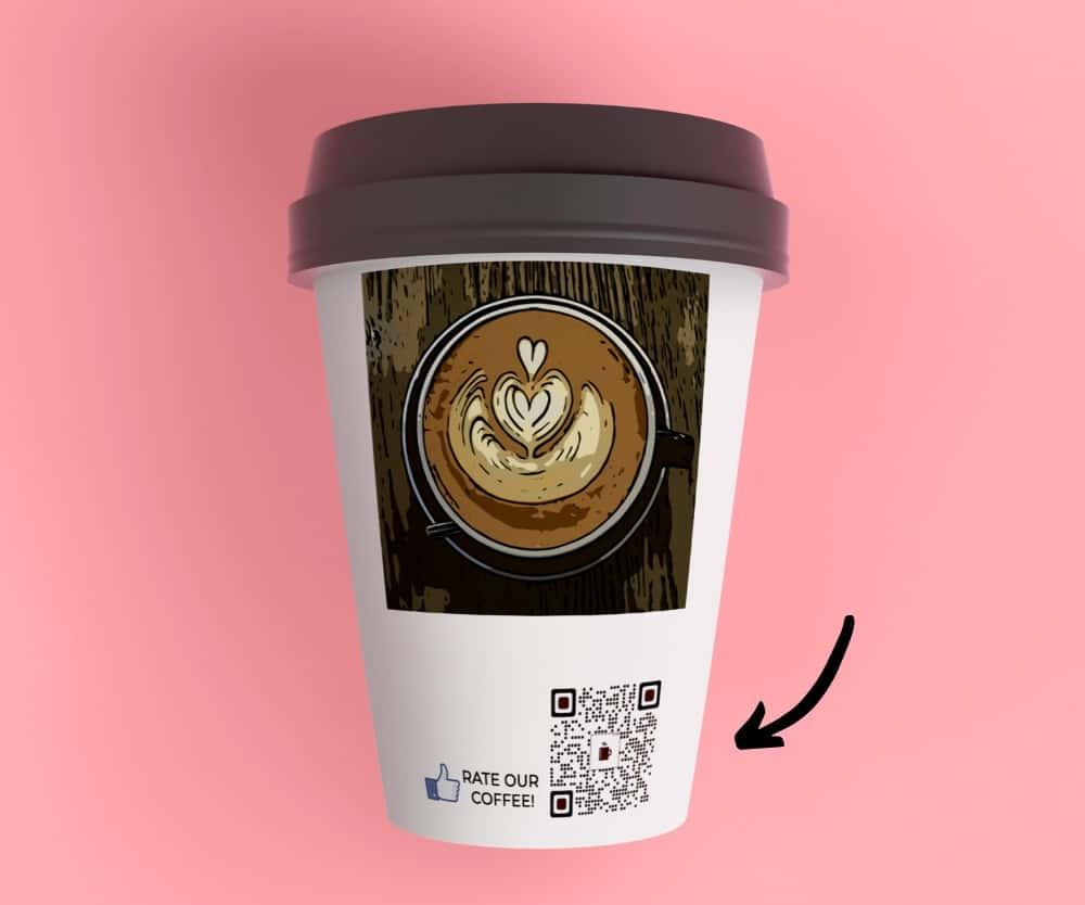 Qr Code Rate Coffee